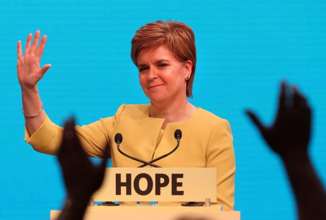 Nicola Sturgeon have her highly anticipated conference speech