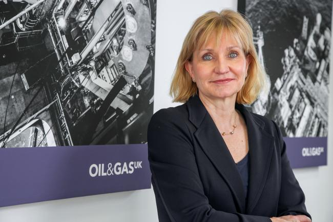 Deirdre Michie of OGUK's said the report showed the changing industry