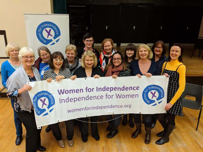The Renfrew Women for Independence group