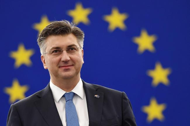 Croatia's prime minister Andrej Plenkovic said parliament will decide on a referendum