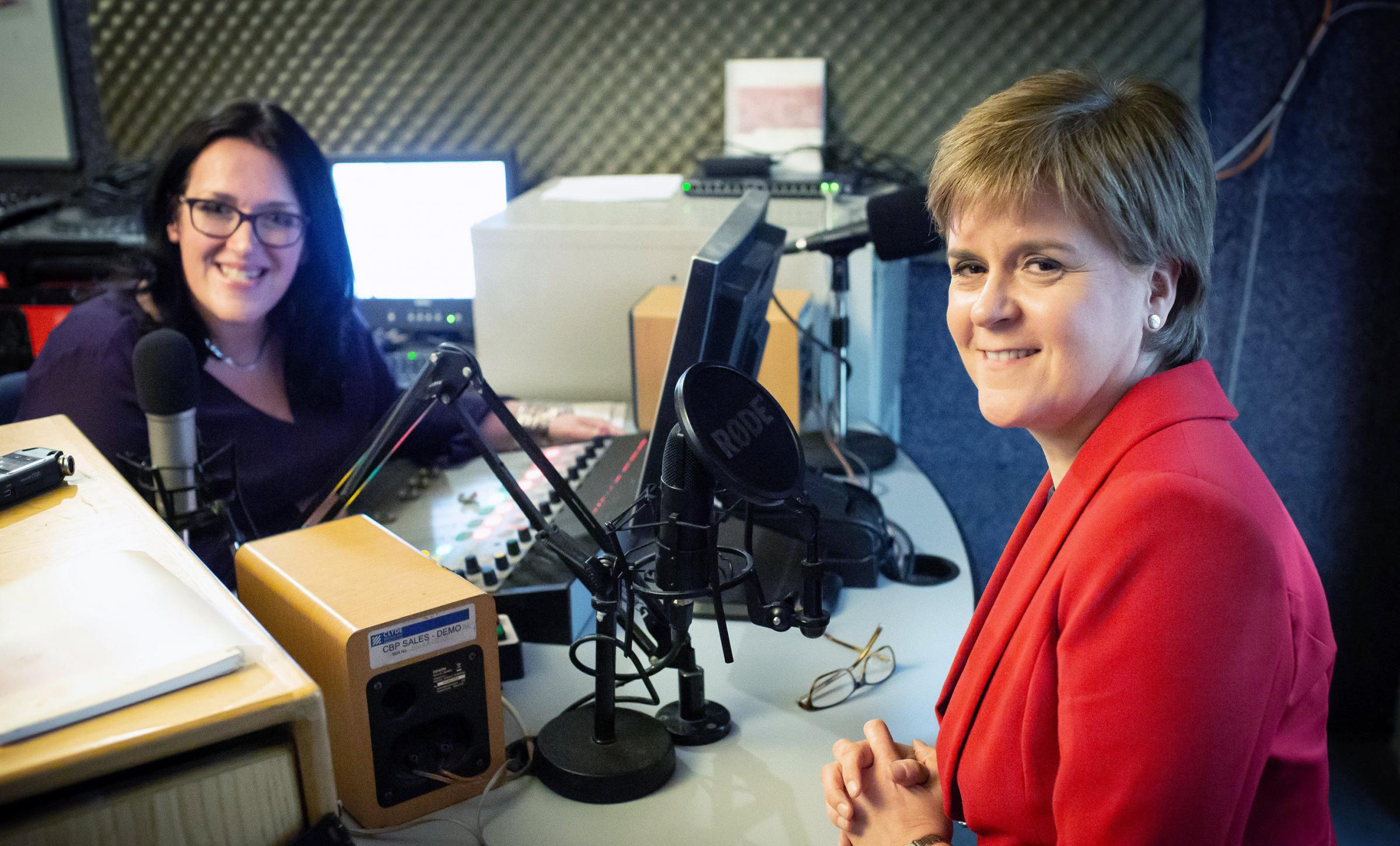 In a revealing interview for Sunny Govan Radio, the First Minister discussed being a woman in the senior political arena