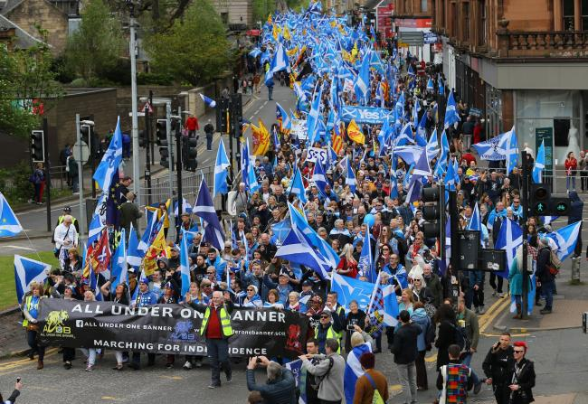 Manny Singh and other former members of All Under One Banner set up the Scottish Independence Movement