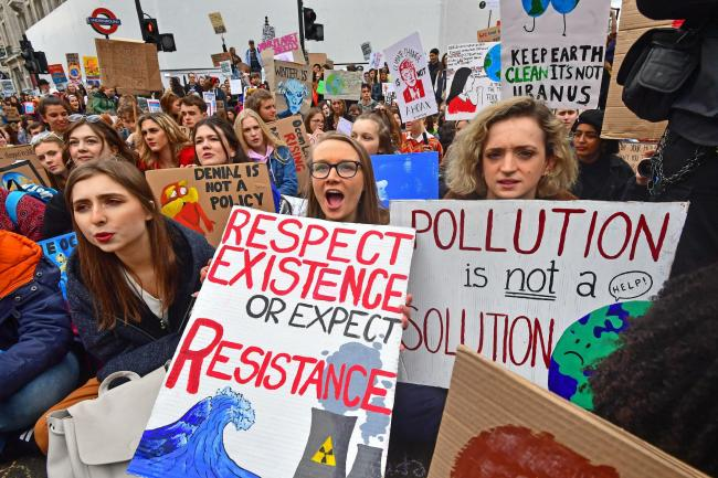 Protesters have been trying to boost awareness of the climate crisis