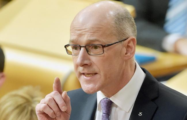 John Swinney faces criticism over standardised assessments for P1s